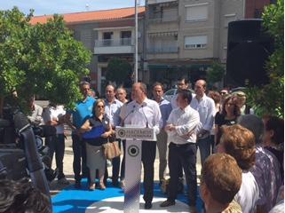 Monago anuncia en Moraleja que implantará la rotación de proveedores para contratos con la Administración