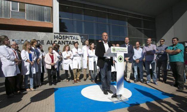 Monago anuncia un incremento de 165 millones de euros en Salud y más de 360 nuevos empleos