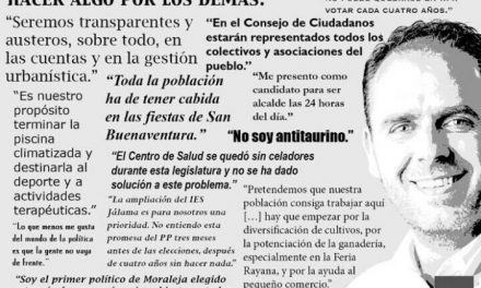 """Herrero hace balance de su campaña electoral y asegura que ha sido """"limpia, libre de dimes y diretes"""""""