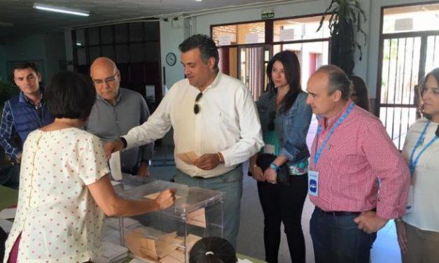El Partido Popular ganaría las elecciones en  Coria con casi el 85% de los votos escrutados