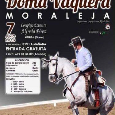 El I Concurso Territorial de Doma Vaquera de Moraleja repartirá más de 500 euros en premios