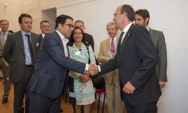 Monago mantiene un encuentro con los consejeros del Comercio Exterior de Francia