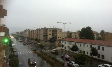 El 112 de Extremadura mantiene activa la alerta amarilla por lluvias en la zona del Tajo-Alagón