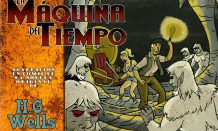 La Editora Regional y la Asociación Extrebeo presentan el cómic 'La máquina del tiempo'