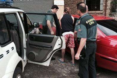 La Guardia Civil desarticula dos puntos de venta de droga en las comarcas de Las Hurdes y Sierra de Gata