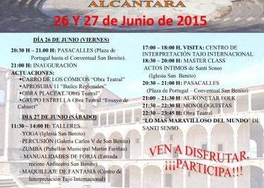 La Asociación Asindi de Alcántara organiza el Festival Particip-Arte como apuesta por la integración