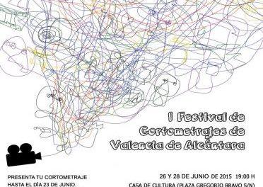 El I Festival de cortometrajes de Valencia de Alcántara se celebrará este fin de semana con 16 producciones