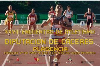 Plasencia reunirá a más de 250 atletas en el XXVIII Encuentro de Atletismo 'Diputación de Cáceres'