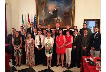 La socialista Rosario Cordero toma posesión como presidenta de la Diputación Provincial de Cáceres