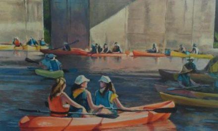 Eduardo Carpintero expone su visión del Descenso del Alagón en el Ayuntamiento de Coria