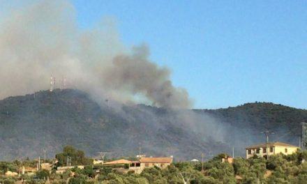 El Plan Infoex declara controlado el incendio que dio comienzo este sábado en las inmediaciones de Plasencia
