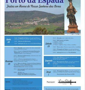 La localidad lusa de Porto da Espada celebrará a finales de mes las fiestas en honor a su patrona