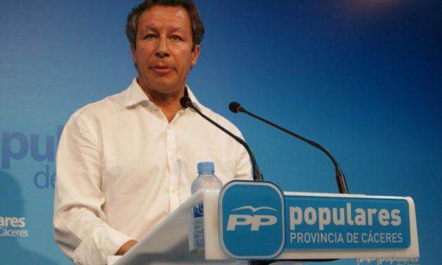 El PP de Cáceres asegura que los presupuestos generales reflejan el compromiso del Gobierno de España