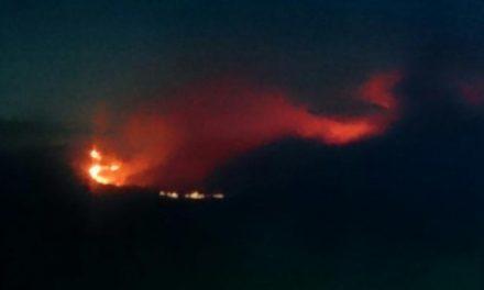 Efectivos de Andalucía, Castilla y León y Portugal se suman a la extinción del incendio de Sierra de Gata