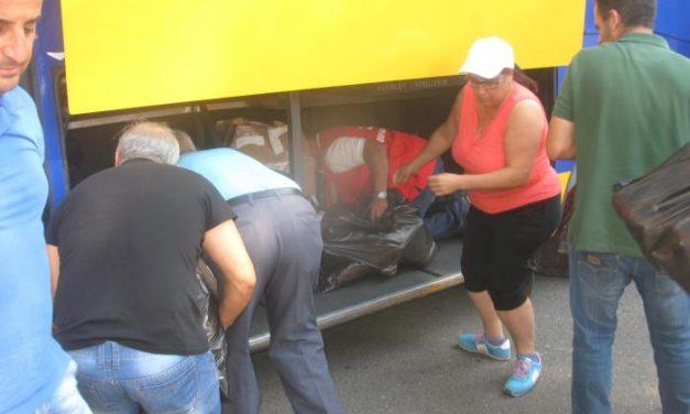 Los vecinos de Acebo y Perales del Puerto vuelven a sus hogares tras confirmar que el entorno es seguro
