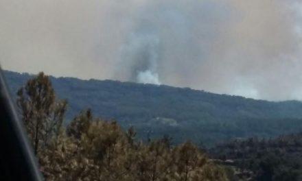 La Junta de Extremadura inicia la recuperación de la Sierra de Gata antes de que se extinga el incendio