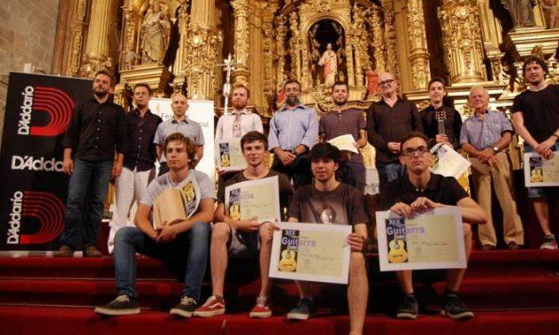 Xavier Jara, Bruno Pino y Álvaro Toscano se proclaman ganadores del XIX Concurso de Guitarra de Coria