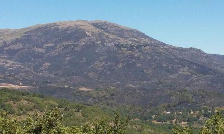 Moraleja envía agua para los efectivos que trabajan en la extinción del incendio de Sierra de Gata