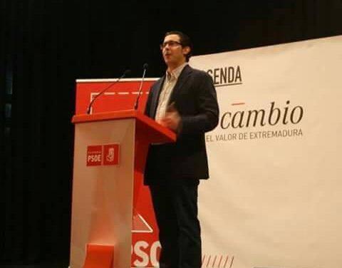 La Mancomunidad Sierra de San Pedro nombra presidente a Alberto Piris, alcalde de Valencia