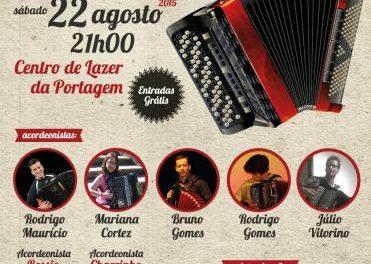 El centro de ocio de la Portagem será del escenario el IV Encuentro de Acordeonistas Amadores