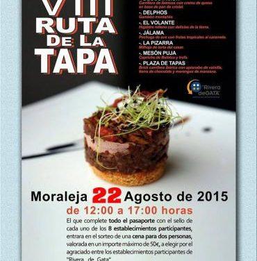 Un total de ocho establecimientos de Moraleja participa en la VIII Ruta de la Tapa este sábado