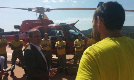 El incendio de Sierra de Gata está controlado pero aún no se ha declarado como extinguido