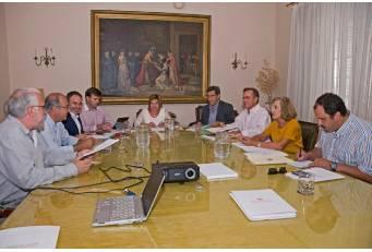 Diputación y Junta de Extremadura se reúnen para coordinar el Parque Cultural Sierra de Gata