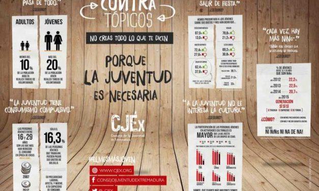 """La campaña """"El mes más joven"""" del CJEx impulsa los valores más positivos de la juventud"""