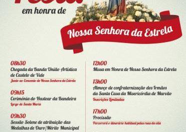 El concejo luso de Marvão celebra el próximo martes las fiestas en honor a la Virgen de la Estrella