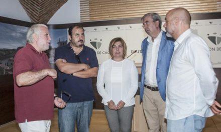 Diputación anima al colectivo Somos Sierra de Gata a seguir trabajando por el desarrollo