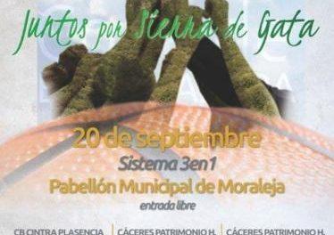 Moraleja valora positivamente la celebración de la Copa de Extremadura de Baloncesto