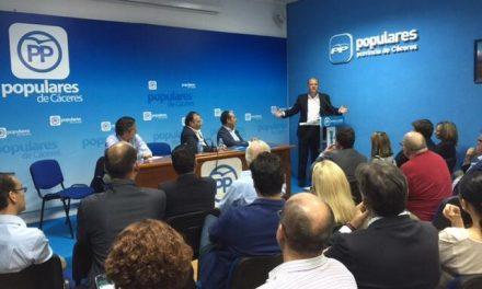 El PP asegura ser la fuerza política segura para dar a los ciudadanos la recuperación que necesita España