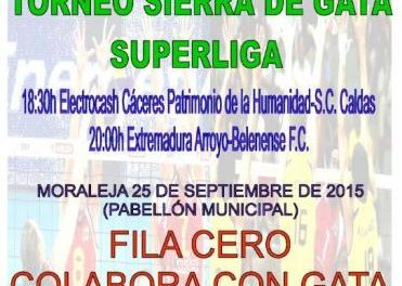 Moraleja acogerá este viernes un torneo de voleibol a favor de los afectados por el fuego de Sierra de Gata