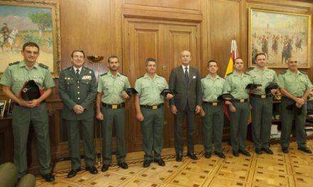 El Estado galardona al guardia civil cacereño Francisco Morcillo por su labor en el Plan Director