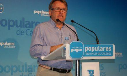 El PP  denuncia la intención de la Junta de suprimir la inversión de Martín Palomino en Plasencia