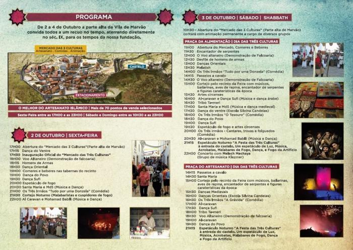 Marvão anima a los extremeños a disfrutar este fin de semana del Festival Almossassa