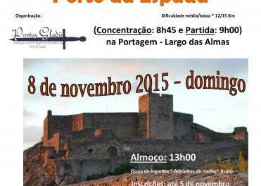 La Asociación Portus Gladi de Porto da Espada organiza una ruta senderista y una matanza popular