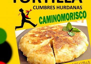 La II Jornada de la Tortilla completará la programación paralela de la III Carrera Cumbres Hurdanas