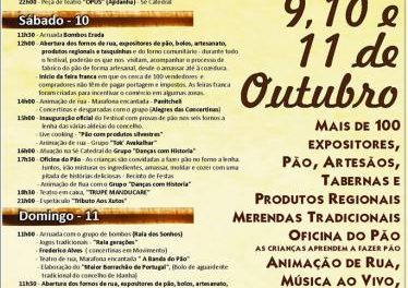Más de 100 expositores se darán cita este fin de semana en el Festival del Casqueiro en Idanha-a-Velha