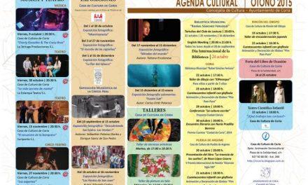 El Ayuntamiento de Coria acerca la actividad artística a los visitantes en el Otoño Cultural