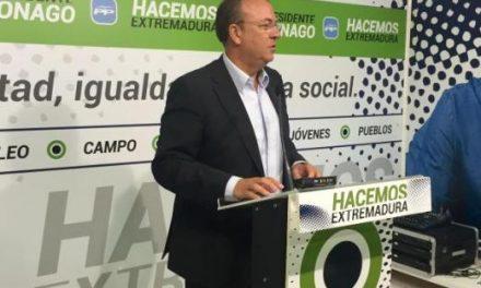 """Monago define los 100 días del nuevo Ejecutivo regional como """"días de incumplimiento"""""""