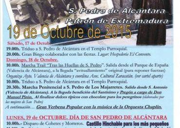 San Pedro de los Majarretes celebrará este lunes la romería en honor a San Pedro de Alcántara