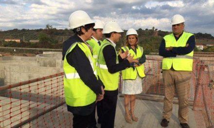 La nueva Estación Depuradora de Coria estará en funcionamiento a mediados de 2016