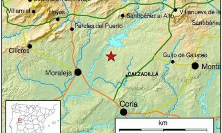 Un terremoto de magnitud 2,6 en Calzadilla se deja sentir en localidades como Moraleja y La Moheda