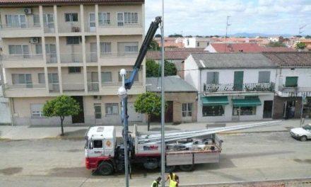Infraestructuras retoma la obra de la avenida de Moraleja tras estudiar el estado del firme de la vía