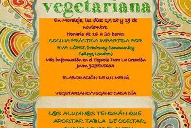 El Espacio para la Creación Joven de Moraleja acercará la cocina vegetariana a los jóvenes