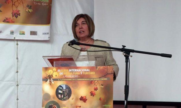 Diputación valora el esfuerzo de los trabajadores de Las Hurdes en la III Feria de Apicultura