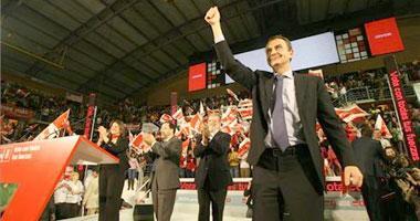 Rodríguez Zapatero celebrará su victoria electoral en las elecciones generales en Alange el día 25 de mayo