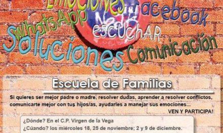 El Colegio Virgen de la Vega de Moraleja se suma a la iniciativa del consistorio de la Escuela de Familias