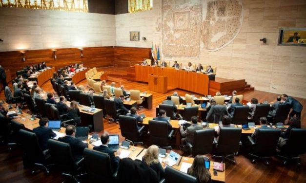 La Asamblea de Extremadura debatirá los Presupuestos Generales el próximo 30 de diciembre